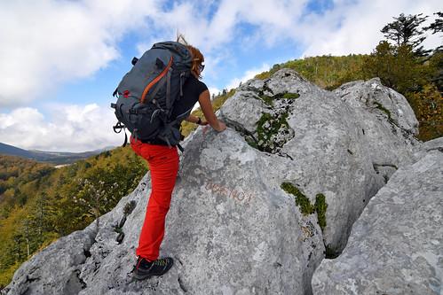 www.boulderingonline.pl Rock climbing and bouldering pictures and news Filipov kuk (1197 m), Dabarski kukovi, Park prirode Velebit, Hrvatska / Filipov kuk (1197 m), Dabar Cliffs, Velebit Nature Park, Croatia
