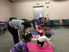 Yoga (mcllibrary) Tags: ewing branch youth services event