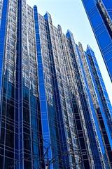 PPG Tower (R.A. Killmer) Tags: ppg city blue sky skyscraper skyline reflections castle modern spires