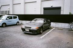 R32, Japan (joshua alderson) Tags: ae86 r32 odaiba skyline japan tokyo fujifilm fuji klassew analog 35mm film kasai rinkai park edo museum natura 1600