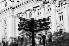 New York in B&W  (megmcabee) Tags: newyork centralpark signs street
