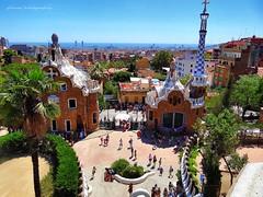 Park Gell (II), Gaudi's masterpiece  - Barcelona (jackfre 2) Tags: catalunya spain barcelona parkgell park gell antonigaudi gaudi