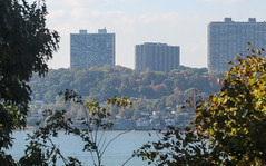 IMG_9671 (kz1000ps) Tags: newyorkcity nyc manhattan cityscape urbanism washingtonheights hudsonriver newjersey palisades fortlee riversidedrive fall autumn foliage leaves colors yellow october