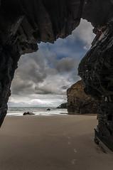 Playa de las Catedrales (jojesari) Tags: ar814g lascatedrales ascatedrales ascatedrais playadelascatedrales lugo galicia jojesari suso marina