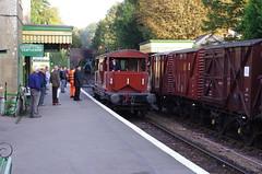 IMGP5789 (Steve Guess) Tags: alton alresford ropley hants hampshire england gb uk train railway engine loco locomotive heritage preserved freight goods wagon queen mary sr brake van guards