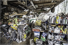 The Filing System (channel packet) Tags: garage jumble disorder motoring davidhill