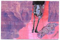 From Lance Giang (tofuart) Tags: pink pinkweek mailart postcard postal art collage mixedmedia