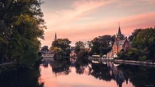 Minnewater Park - Bruges, Belgium