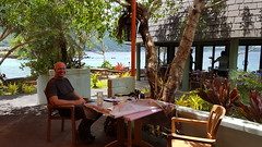 Dining at the Goat Island Cafe at Sadie's