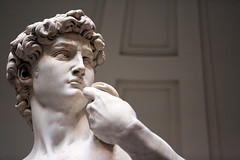 David, an honor to meet you. (Hammerin Man) Tags: david marble michelangelo sculpture