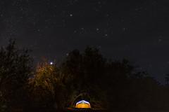 Home under the stars (lv_los) Tags: camping campground deathvalley deathvalleynationalpark furnacecreek desert stars nightphotography nikonphotography nikond7100 tent longexposure