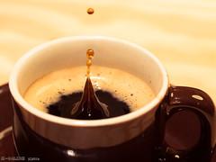 If the coffee cup is empty the day starts (E-M1.de) Tags: partofmydailyroutine coffee coffeecup espresso gutenmorgen kaffee macromondays pott tasse goodmorning