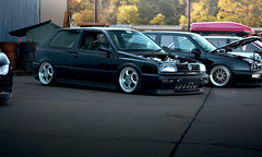 MK3 GTI (DUTCHswift) Tags: car carmeet dutchphotography import livelowordie tire junkstyles lowered performance racing rarewheels slammed stancenation stance stanceworks tuned vehicle wheel firstclassfitment fcf fcf16 canibeat mk3 mkiii vw volkswagen golf gti