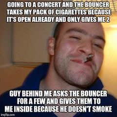 Made up for the douchey bouncer (vbgroup007) Tags: ggg