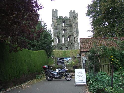 2016 # 050, Helmsley Castle, Yorkshire 1. (RBR 2004)