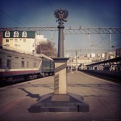 Vladivostok - Km9288 #vladivostok #russia #transiberian #end #mark #km9288 #onthewaytovladivostok #travel #lisboavladivostock #trip #done #feito #trainstation #viagens #instatravel #instagram