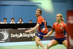 NBLmatch-5100-0463 (University of Derby) Tags: 5100 badminton nbl sportscentre universityofderby match