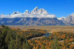 Grand Teton and the Snake River (zgrial) Tags: landscape grandteton nationalpark snakeriver wyoming usa fall mountainrange mountainpeak zgrial