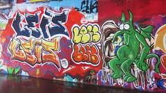 Leis / Keizerviaduct - 15 nov 2016 (Ferdinand 'Ferre' Feys) Tags: gent ghent gand belgium belgique belgië streetart artdelarue graffitiart graffiti graff urbanart urbanarte arteurbano