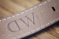 DW (Serena178) Tags: macro macromonday danielwellington dw canon5d canon watch stitch stitches band watchband wood leather jewellery time clock closeup tan accessories photography explore camera photographer serenajonesphotography