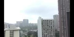 First the Rain (Civilized Explorer) Tags: time lapse hawaii oahu honolulu waikiki diamondhead cityscape