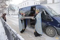 06. Arrival of Sanctities at Lavra / Прибытие святынь в Лавру 01.12.2016