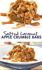 Crunchy Salted Caram (alaridesign) Tags: crunchy salted caramel apple crumble bars