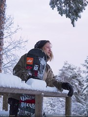Snowboarder Portrait (AG_Alex) Tags: snowboarder portrait profile winter snow kajaani finland sports olympus omd em5ii mzuiko photography digital ed 14150mm