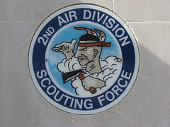 2nd Air Division Scouting Force badge ( Claire ) Tags: station 3d memorial no group 4th 11 wellington ww2 mustang dday cambridgeshire raf airfield 122 secondworldwar squadron thunderbolt p51 vickers worldwartwo p47 usaaf prg eighthairforce bombercommand steeplemorden 4thfightergroup vickerswellington 355thfg 355thfightergroup 4thfg station122 3dphotographicreconnaissancegroup