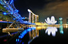 Marina Bay Sands Hotel, Long Exposure