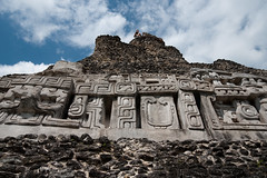 Reproduction of the Frieze (Kevin_Barrett) Tags: belize sony ruin mayan alpha xunantunich a700 tamron1750