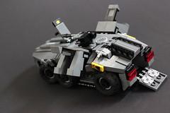 DARKWATER Baal APC 3 (✠Andreas) Tags: lego darkwater apc baa thepurge legomilitary armoredpersonelcarrier legoapc cyberpunkmilitary legoarmoredpersonelcarrier legodarkwater
