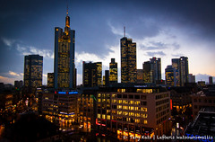 Frankfurt am Main (TeryKats) Tags: winter building skyline canon germany eos hessen frankfurt wide wideangle tokina 500d lefteris importedkeywordtags tokina1116 katsouromallis terykats