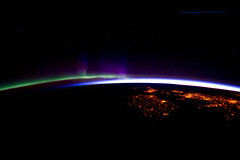 Eastern North Atlantic at Night (NASA, International Space Station, 03/28/12) (NASA's Marshall Space Flight Center) Tags: sunrise nasa auroraborealis northatlantic internationalspacestation earthatnight stationscience crewearthobservation stationresearch