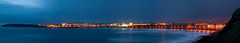 Portrush panorama [Explored 10/04/12] (lux venit) Tags: night long exposure waves shot panoramic portrush starbursts