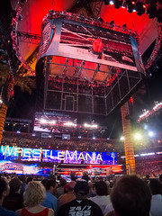 WWE Wrestlemania 28 - The Rock vs John Cena