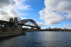 Harbour Bridge (brianfarrell) Tags: bridge autumn house fall harbor opera harbour sydney may australia operahouse 2013