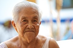 Almost 100 years of wisdom (takamaa) Tags: thailand oldwoman huahin