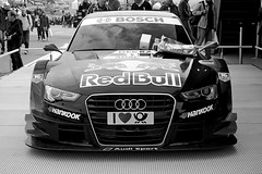 Audi RS5 DTM (B/W) (DaveJC90) Tags: camera blackandwhite bw white black detail slr london cars sports car race speed lens kent movement nikon track angle zoom action indy move racing sharp vehicles event crop mercedesbenz bmw vehicle driver motor m3 audi 70300mm dtm circuit a5 coupe drivers motorsport brandshatch 3series cclass livery croped sharpness d40 sponser rs5 sponsership deutschetourenwagenmasters