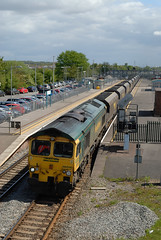 66-550-6M04-Severn-Tunnel-Junction-15-5-13 (D1021) Tags: freightliner 66550 severntunneljunction 6m04