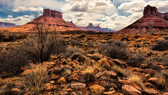 Shadows in the Valley (Jeff Clow) Tags: nature landscape moabutah professorvalley topazadjust topazclarity tpslandscape