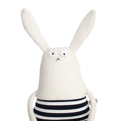 Stuffed Bunny Toy (The Original Poosac) Tags: cute rabbit bunny toy doll handmade plush softie plushie etsy poosac