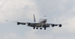 Lufthansa 747-1 (UnfinishedPortraitmaker) Tags: airplane aircraft aviation boeing ord lufthansa boeing747 747 ohareinternationalairport