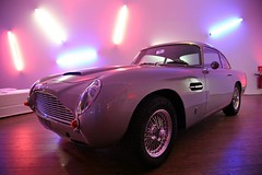 Aston Martin DB5 (EuropeAuto) Tags: classic cars car de james automobile nissan martin collection le bond antibes luxe aston gtr db5 prestige vhicule exception cannet revendeur concessionnaire europeauto