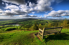 Forest view (jim ennis) Tags: green water bench landscape peace cheshire relaxing scenic tranquility reservoir macclesfieldforest viewpoint langley height mirador contemplation shiningtor teggsnose thepeakdistrictnationalpark trentabankreservoir thewhitepeak britnatparks greatbritishlandscape