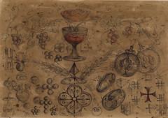 87  Algoritm simbolic cultural diagrama Sfera-spirala-4 cruce-pocal-vita de vie-samanta de grau unda stationara (kelemengabi) Tags: vortex gabriel standing spiral wave theory sphere helix universal resonance kelemen