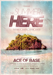 Summer Poster Template Vol. 2 (Indieground Design Inc.) Tags: sunset sea party summer music beach sunshine club night photoshop print poster stars disco island lights dance seaside concert flyer paradise dj gig pop minimal nightclub event electro techno electronic psd template dubstep djset indieground