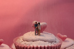 love is....getting caught in an icing sugar storm (trackybottoms) Tags: cupcakes baking heart valentine sugar icing ho littlepeople jellybeans smallpeople