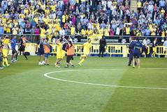 Bruno's Shout (Teremin2004) Tags: football soccer futbol villareal leicam8 elmar135mmf4 ascensovillareala1