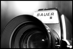 Old Bauer camera (Alexandre Joliet) Tags: camera old bw bauer appareil